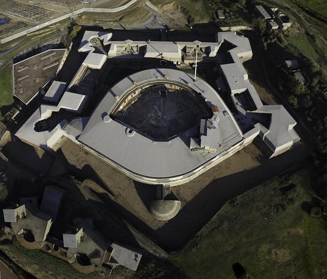 20110920-Landguard Fort at 60m AGL proof