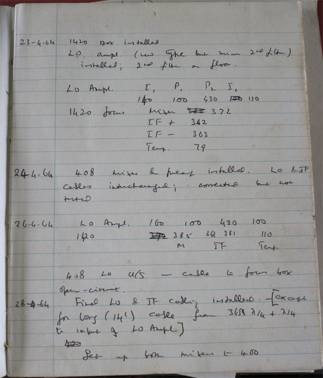 Log book p1