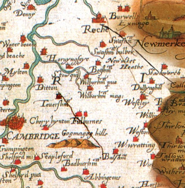Fleam and Devil Saxton 1576