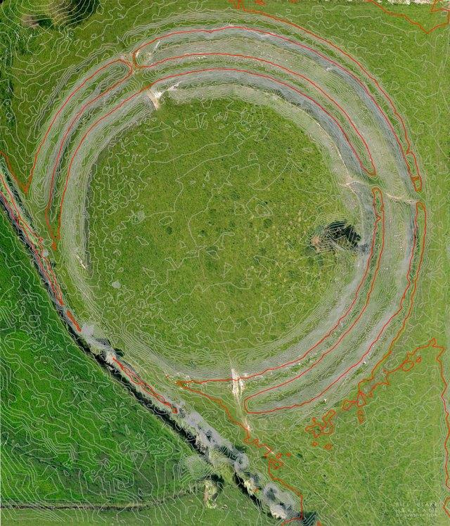 Warham Camp Ortho with contour overlay 2