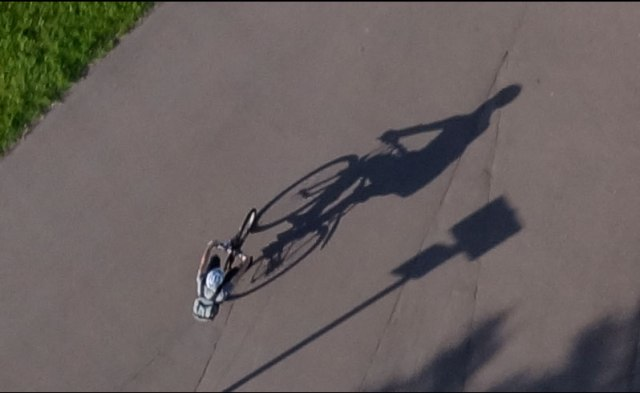 Bike shadow 2
