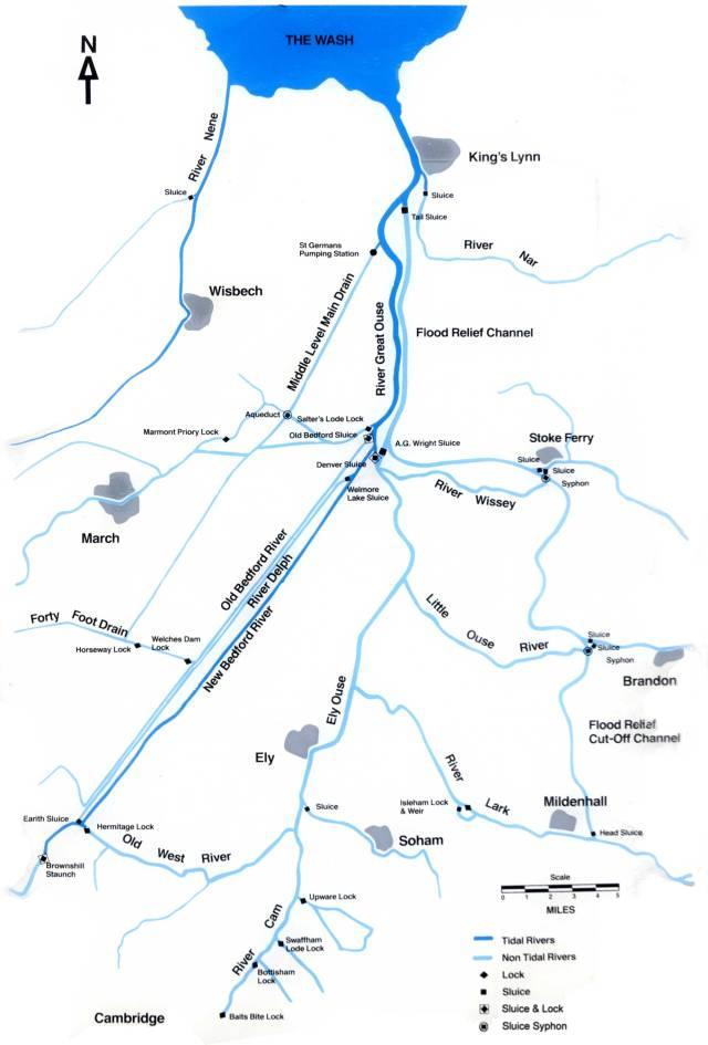 E A Map 1