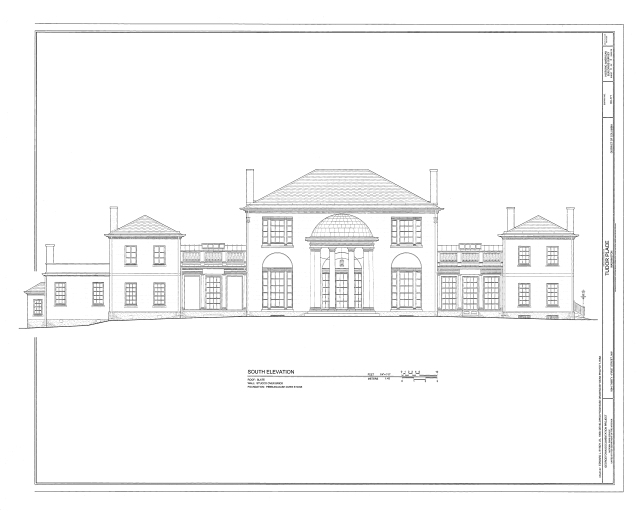HABS-Tudor-Place-South-Elevation_1999_a